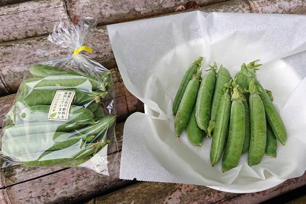 無肥料・自然栽培あさひ自然農園の実えんどう(久留米豊)