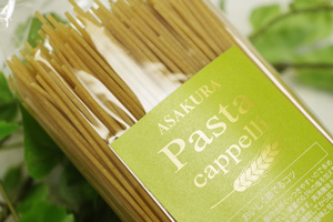 カッペリ小麦のスパゲッティ(テフロン)