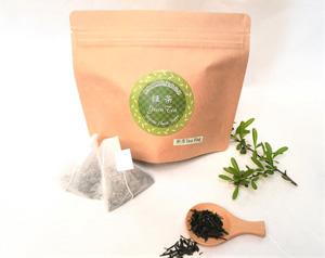 無施肥無農薬栽培茶ティーパックのお茶