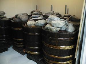 漬物用木樽
