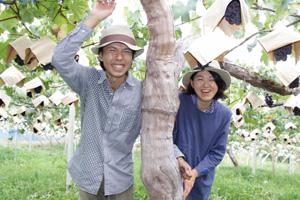 生産者の太田夫妻