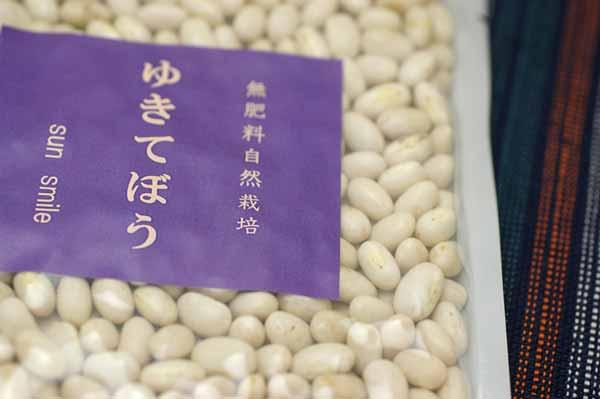 無肥料自然栽培雪手亡(白いんげん)