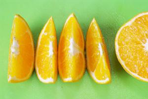 ネーブルオレンジのスマイルカット
